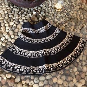 BCBGMAXAZARIA Fit/Flare Skirt